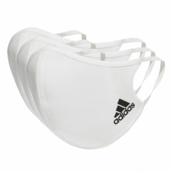 Adidas Face Covers White M/L 3τμχ H34578